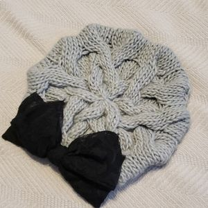 Womens knit hat